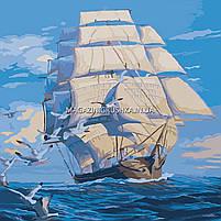 Картина по номерам На всех парусах КНО 2708, фото 2