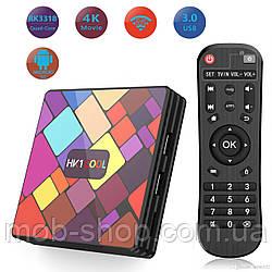 Смарт приставка TV Box HK1 Cool 4/32 Гб Android 9.0 Smart TV (смарт ТБ приставка на андроїд) + 3 місяці Sweet