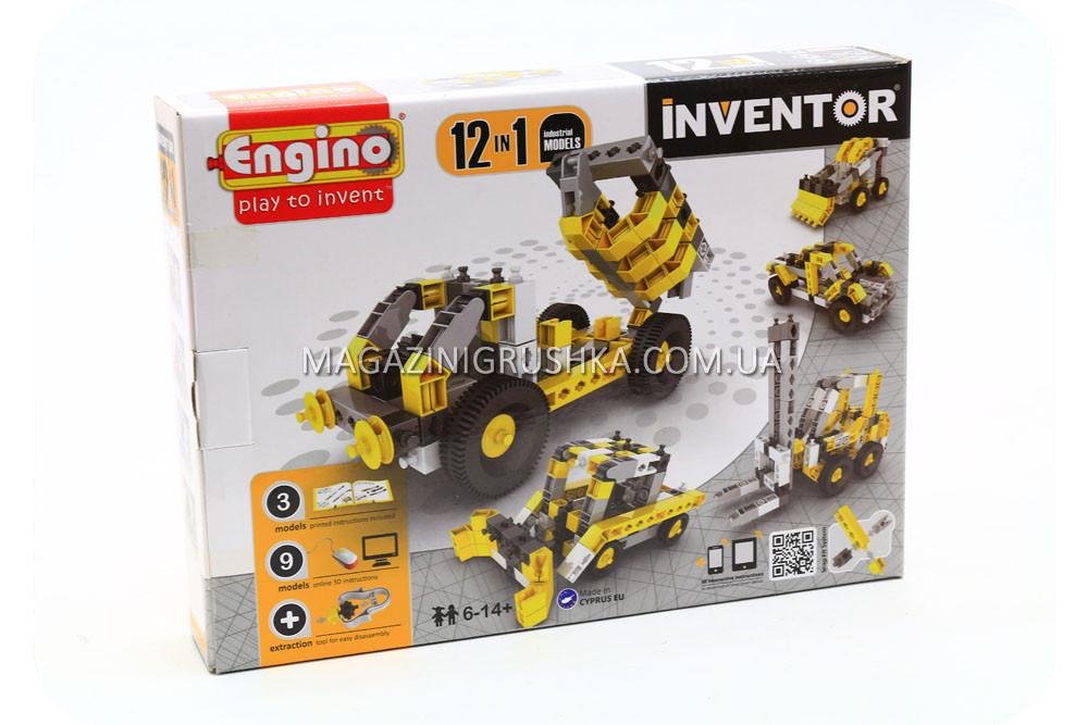 Конструктор Engino - 12в1 Строительная техника (1234)