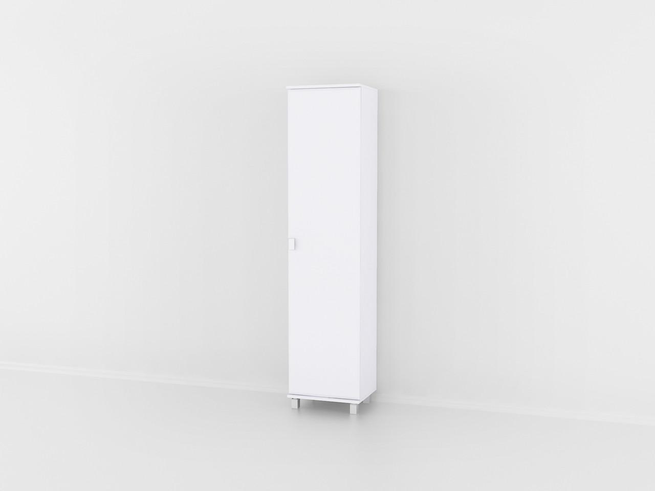 Шкаф для одежды одиночный на ножках в гостинную из МДФ. Код: Ш-1466