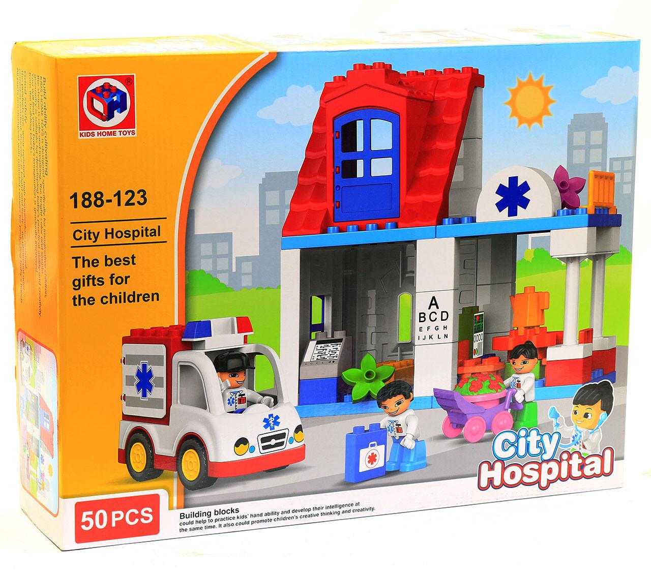 Конструктор Kids Home Toys, Поликлиника, 188-123