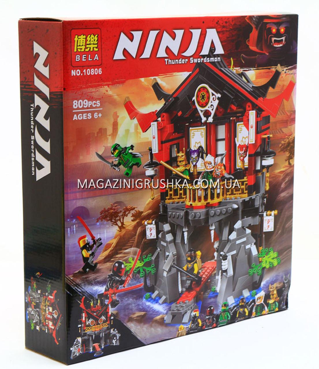 Конструктор Ninja «Храм воскресения» (809 деталей) 10806