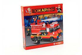 Конструктор Sluban «Пожарный» пожарные спасатели M38-B0220