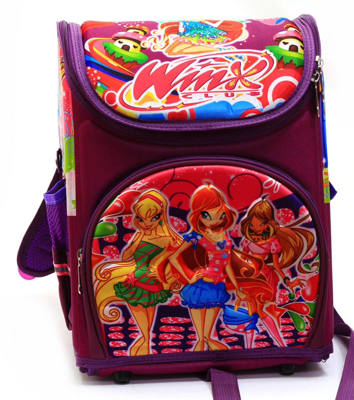 Рюкзак школьный каркасный Винкс N00121