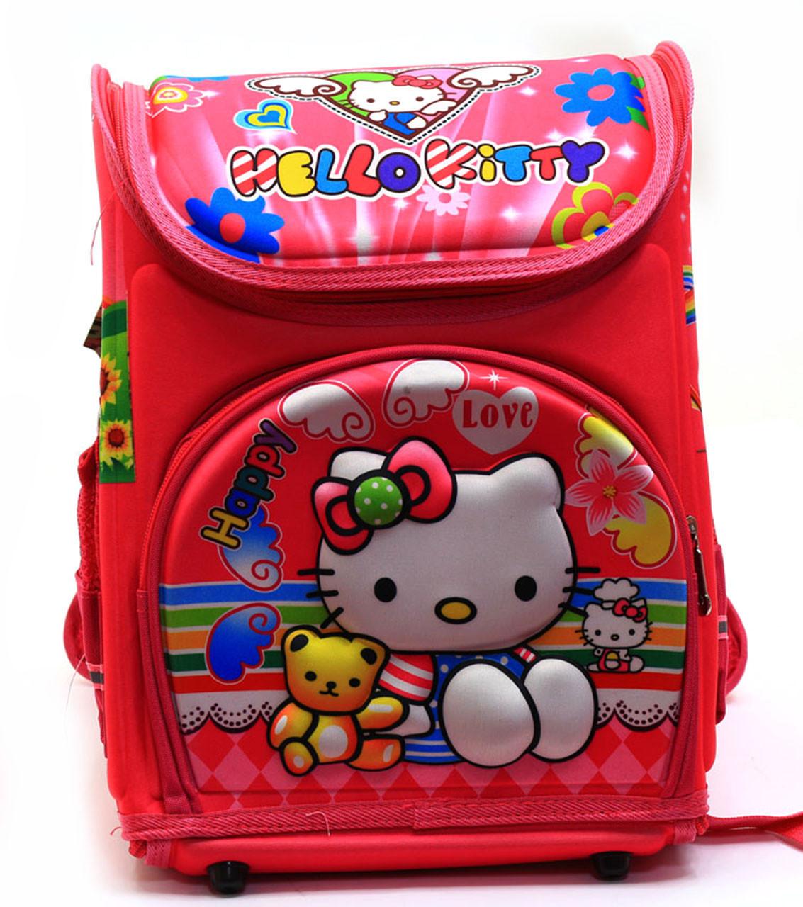 Рюкзак школьный каркасный Китти N00125