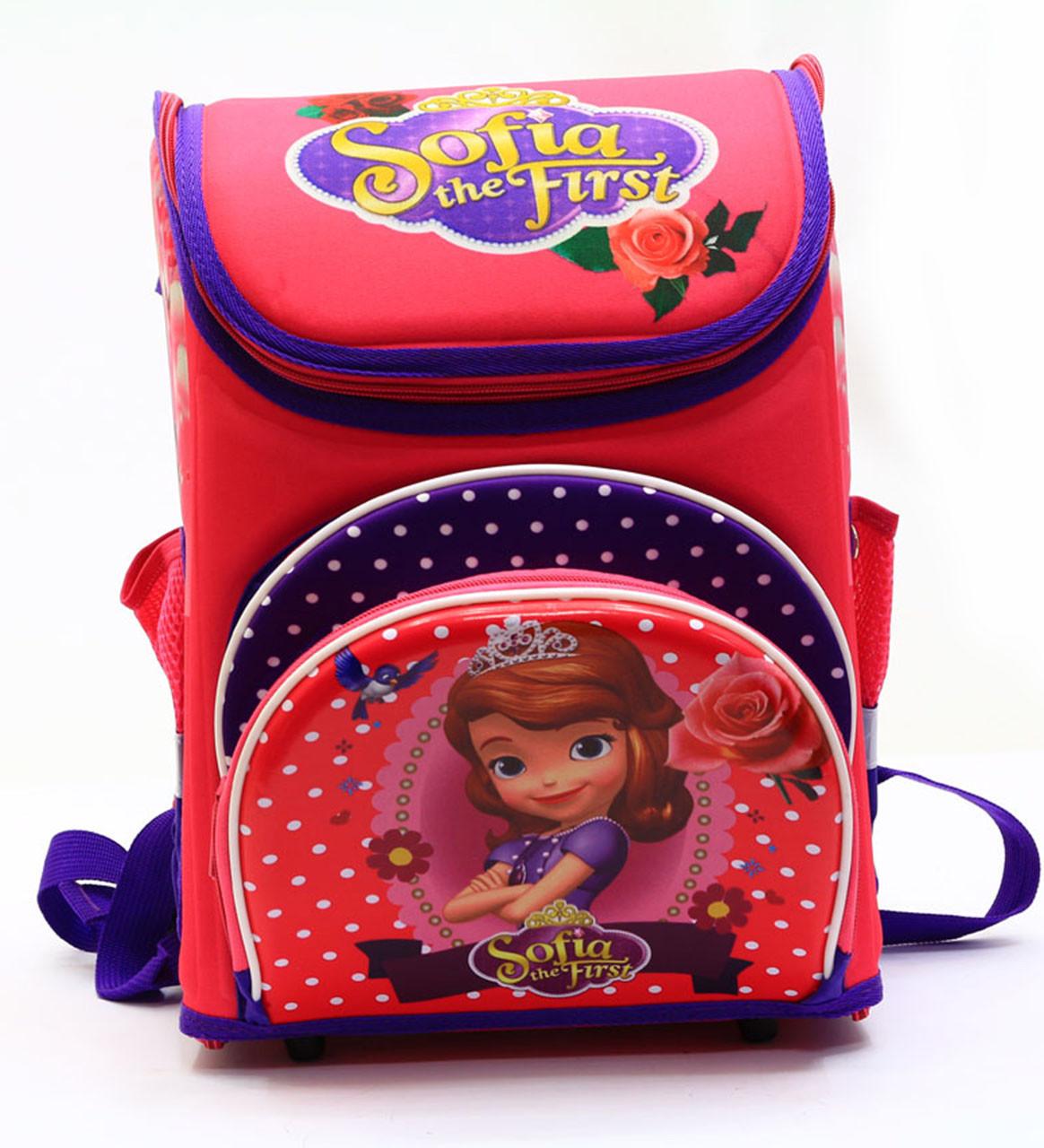 Рюкзак школьный каркасный Принцесса София N00173