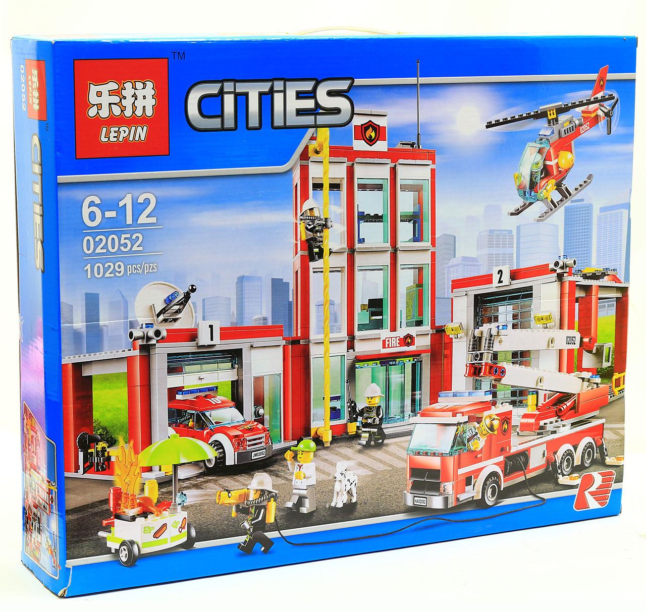 Конструктор «Город» - Пожарная часть 02052 Lepin