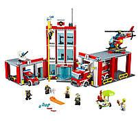 Конструктор «Город» - Пожарная часть 02052 Lepin, фото 3