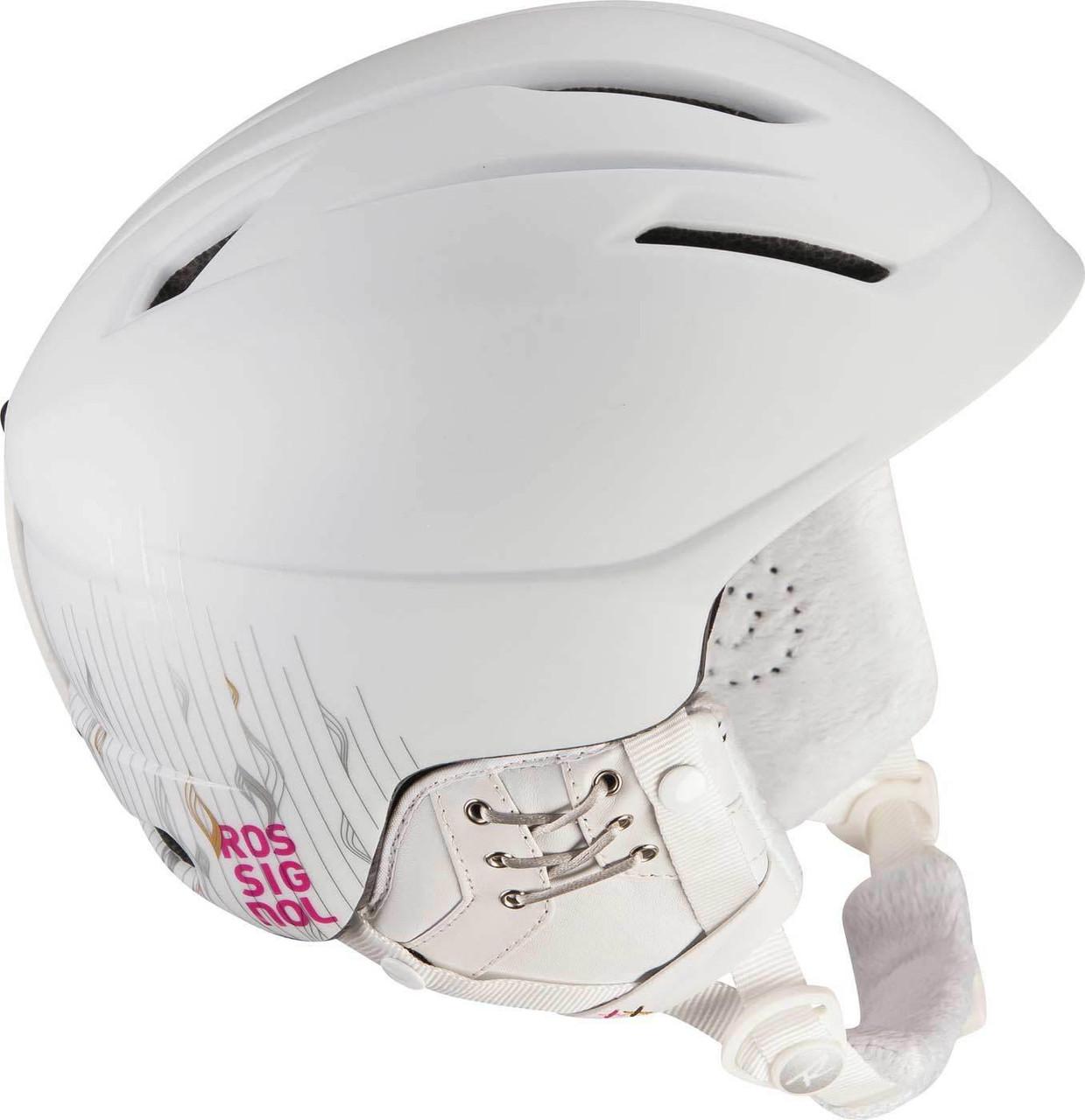 Горнолыжный шлем женский Rossignol RH2 FREE WHITE/PINK, XL (MD)