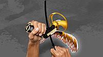 Конструктор детский спиннинг NINJA BELA Мастер аэроджицу Летающий ниндзя - Повелитель Золотого дракона 10929, фото 8