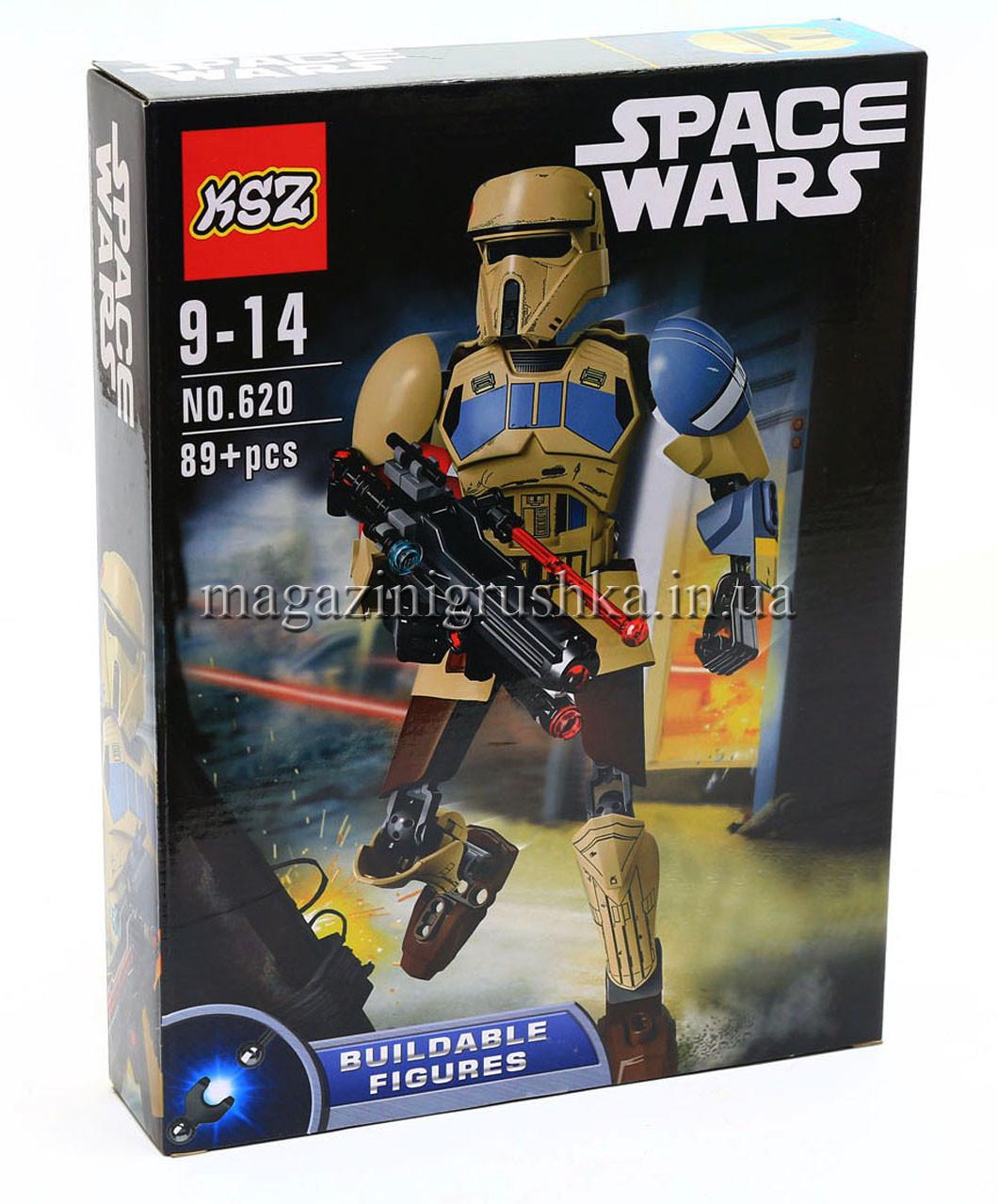 Конструктор Звёздные войны Star Wars Space Wars арт. 620 Штурмовик со Скарифа 89 деталей
