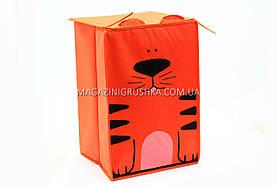 Коробка для игрушек складывающаяся котенок 138015