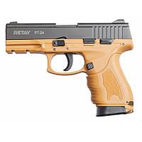 Пистолет стартовый Retay PT24 9 мм. tan (R506983R), фото 1