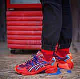 Чоловічі кросівки Asics Gel Kayano 5 OG Red репліка ААА, фото 5