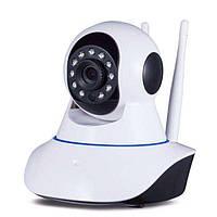 Поворотная беспроводная IP камера видеонаблюдения  WiFi Smart Net camera Q5 Ночная сьемка