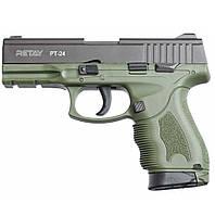 Пистолет стартовый Retay PT24 9мм. olive (R506982G), фото 1