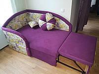 Детсуий диван розовый «Скай» от производителя
