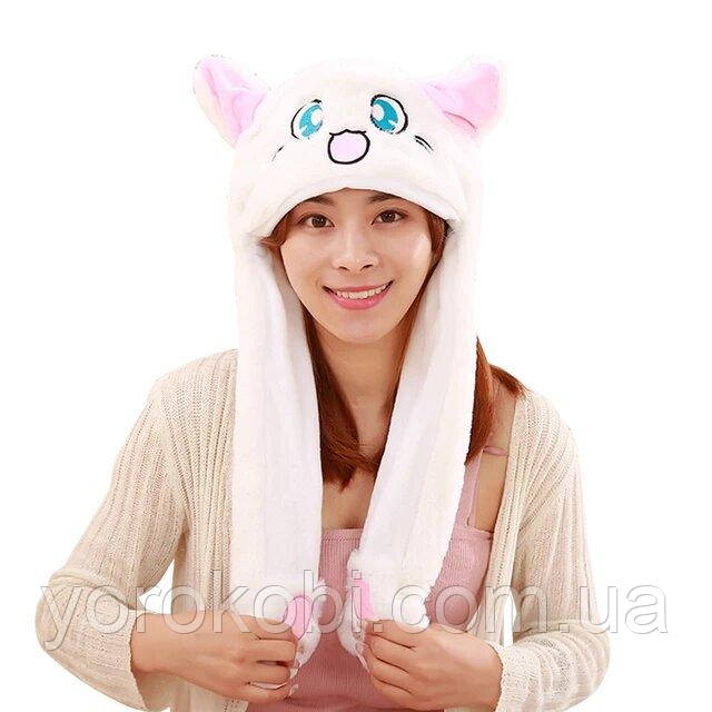 Шапочка с подвижными ушками Кошка Красавица-воин Сейлор Мун