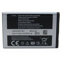 Аккумуляторная батарея EXTRADIGITAL Samsung AB463651BU, C3322i (960 mAh) (BMS6412)