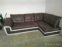 Угловой диван «Президент» коричневый от производителя