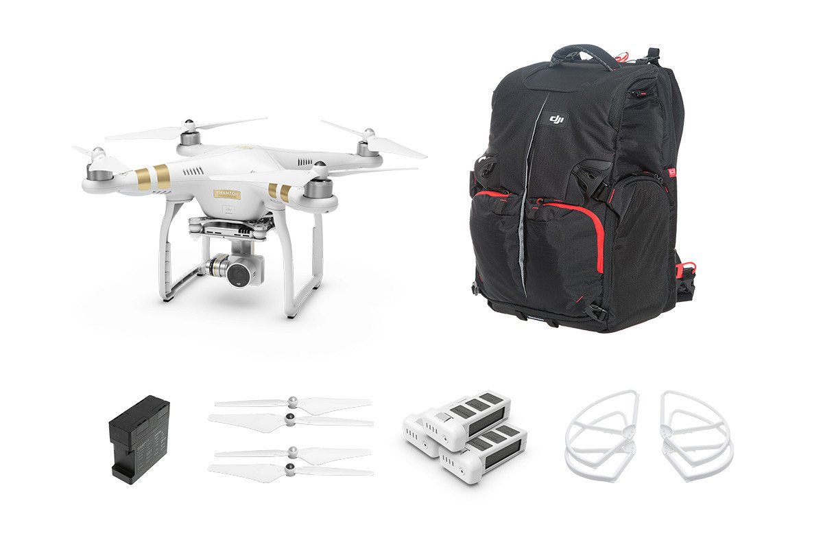 Квадрокоптер DJI Phantom 3 Professional Kit 2