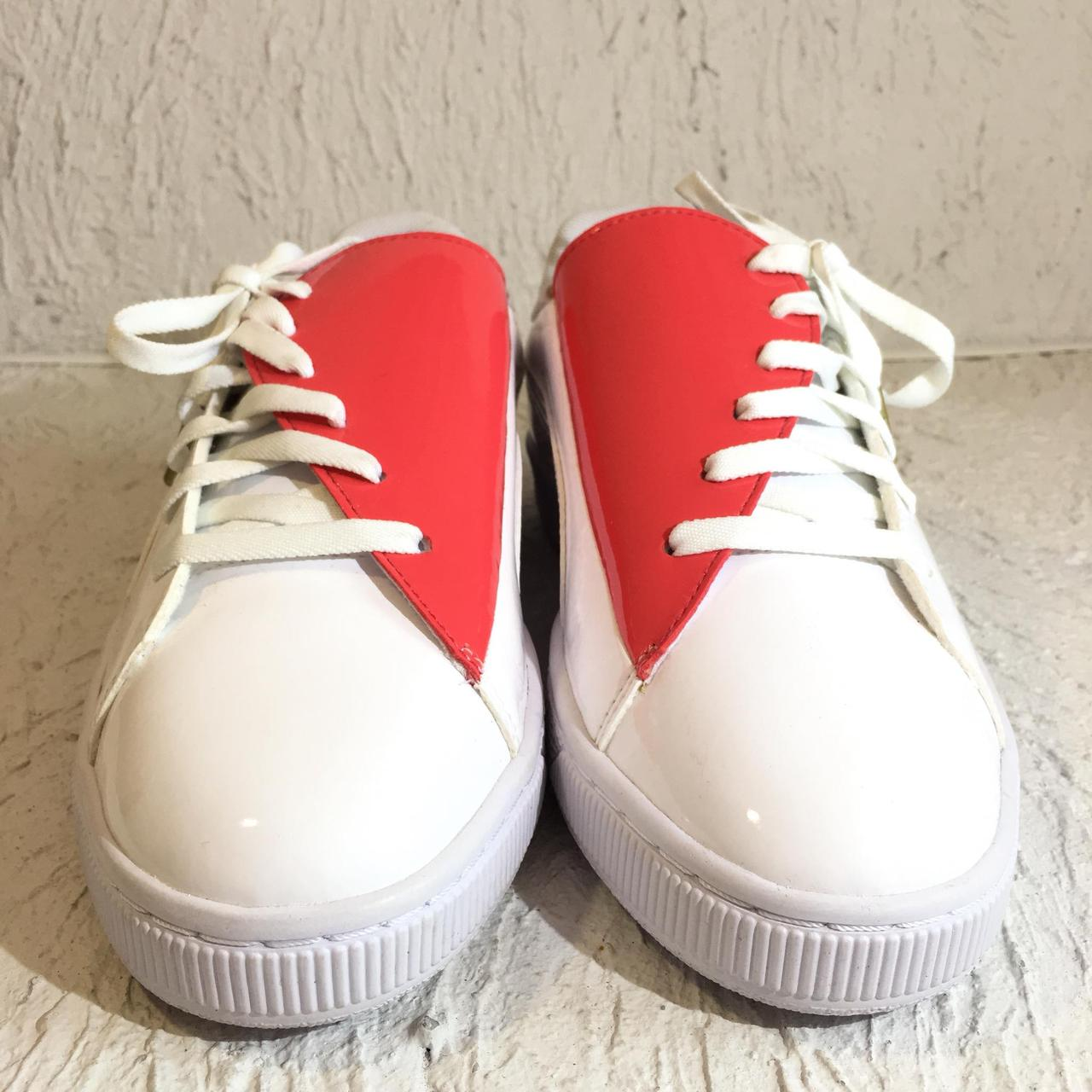 Кроссовки puma basket crush wns white (36955601) 39 размер