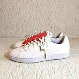 Кроссовки puma basket crush wns white (36955601) 39 размер, фото 2
