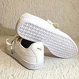 Кроссовки puma basket crush wns white (36955601) 39 размер, фото 5
