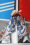 Nike React Element 87Gray Blue Red Найк Реакт Серый Красный Синий🔥 Найк мужские кроссовки 🔥, фото 5