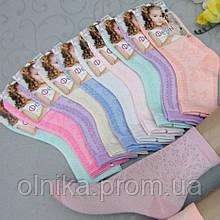 """Шкарпетки для дівчаток СІТКА, розмір 30-35, """"Фенна"""" ."""