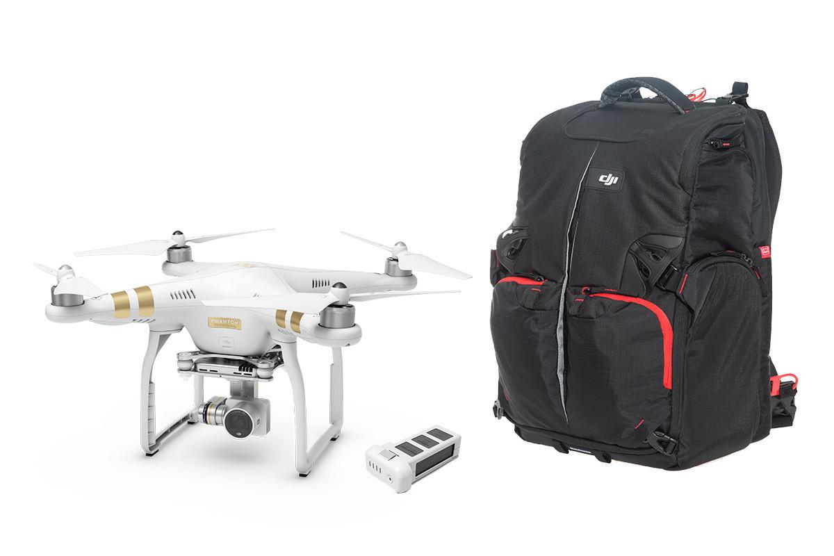 Квадрокоптер DJI Phantom 3 Professional Kit 3