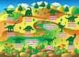 Большая книга. Развивающие наклейки. Умные задания. Мир динозавров , фото 3