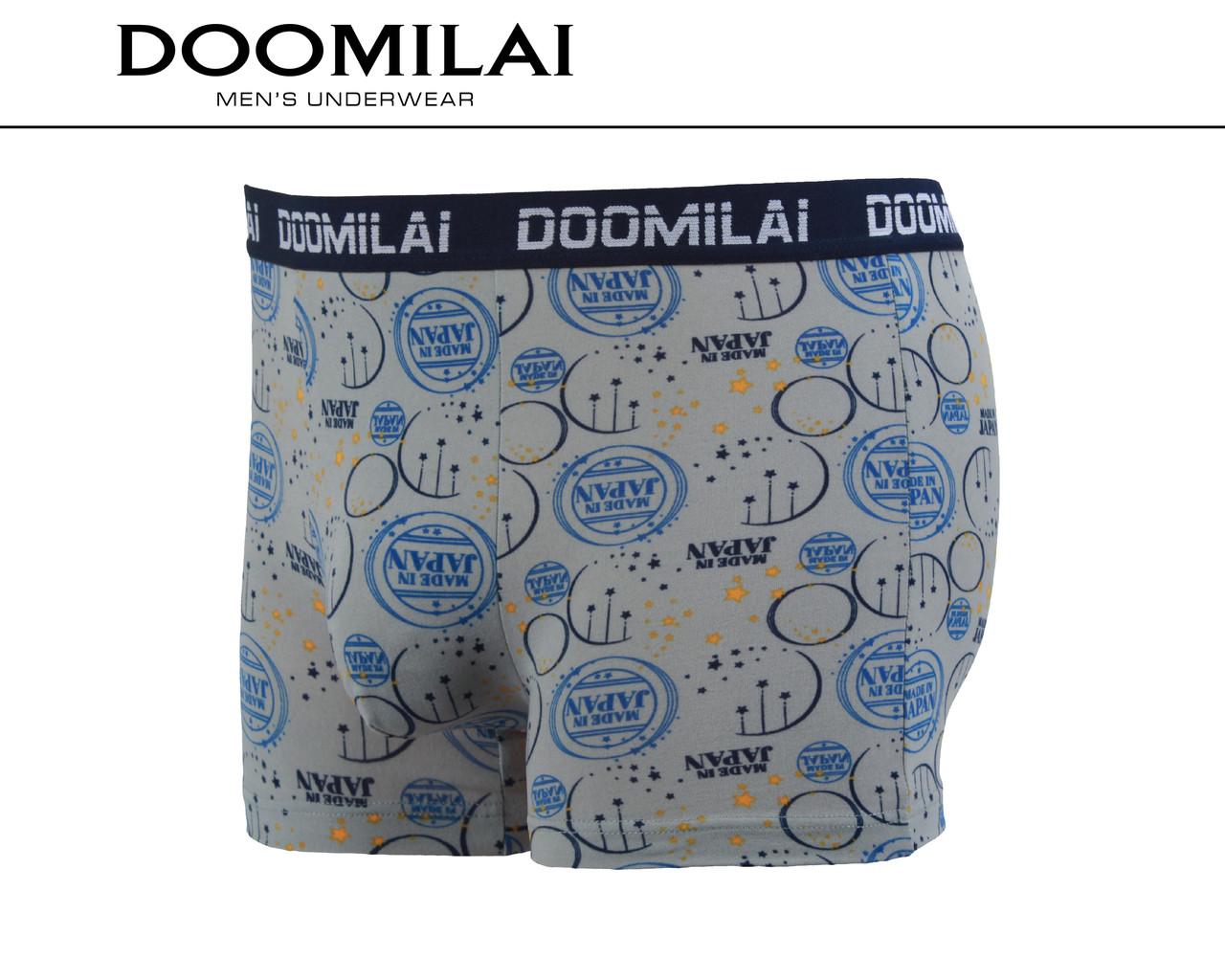 Мужские боксеры стрейчевые из бамбука  Марка  «DOOMILAI» Арт.D-01235