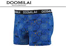 Мужские боксеры стрейчевые из бамбука  Марка  «DOOMILAI» Арт.D-01235, фото 3