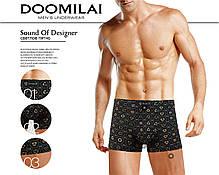 Мужские боксеры стрейчевые из бамбука  Марка  «DOOMILAI» Арт.D-01232, фото 3