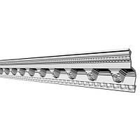 Потолочный плинтус с орнаментом Glanzepol GP-47