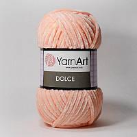 Пряжа Dolce 100гр - 120м (764 Персиковы) YarnArt