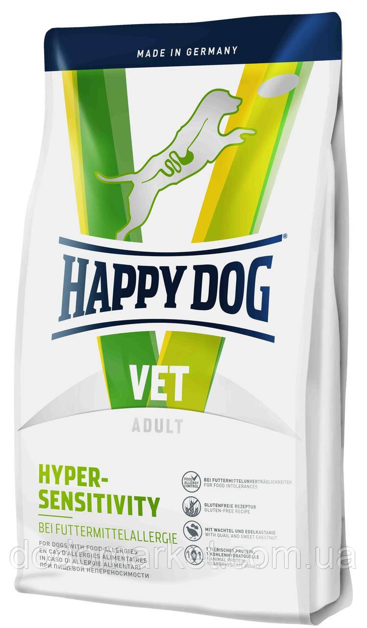 Диетический корм для собак Happy Dog VET Diet Hypersensitivity Хеппи Дог Вет Диет 12,5 кг