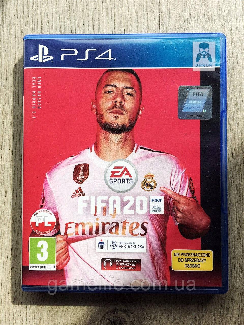 FIFA 20 (б/у) (рус.) PS4