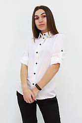"""Классическая женская блузка """"Ivory"""", размеры 42 - 48"""