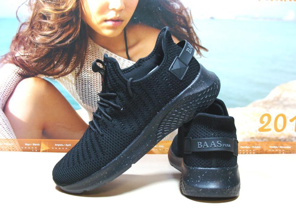 Мужские кроссовки BaaS Х черные 45 р.