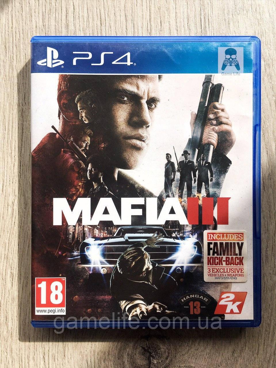 Mafia 3 (рус. суб.) (б/у) PS4