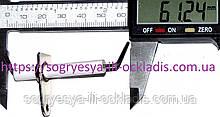Свеча розжига/ионизации 60 мм с кабелем (б.ф.у, Китай) Solly Standart, арт.4500300017, к.з.1860/2