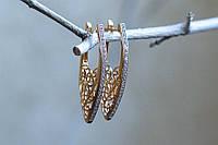 Серьги женские, длинные, ювелирная бижутерия Xuping