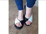 Классические кожаные босоножки на платформе Terra Grande, фото 3