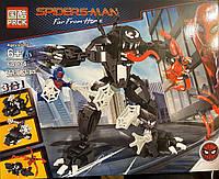 Конструктор PRCK, Lele 64034 Super Heroes Супергерои 3 в 1 Веном, аналог лего супергерои 76115, 449деталей