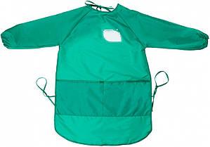 Фартук для детского творчества подростковый Cool for school,зеленый CF61651-04