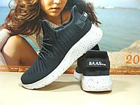 Мужские кроссовки BaaS Х темно-серые 44 р., фото 1