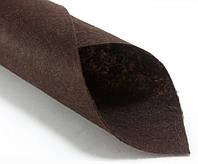 Фетр жесткий 1мм 20 х 25 см  Цена за 1 лист. Цвет - Коричневый