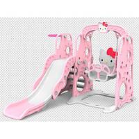 Детская горка-качель BAMBI HK5018-2B Hello Kitty баскетбольное кольцо